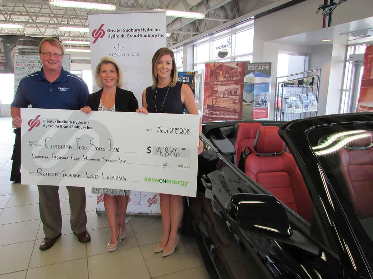 Cambrian Ford Prend Le Virage Vert Tout En Profitant De Grandes 233 Pargnes Gsu Greater Sudbury